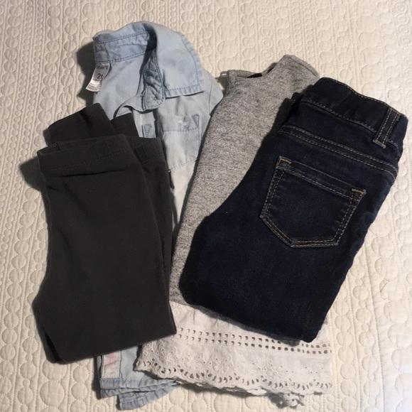 Gap Matching Sets Girls 2t Bundle Of Tops And Pants